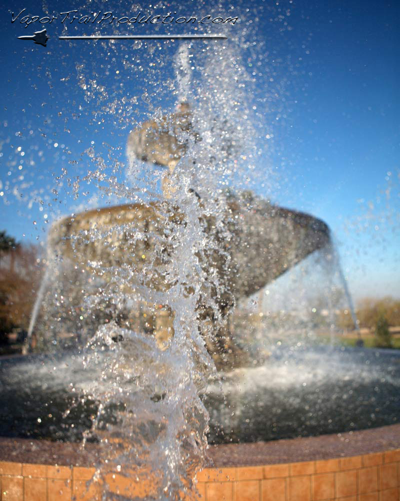 high speed photography - fountain